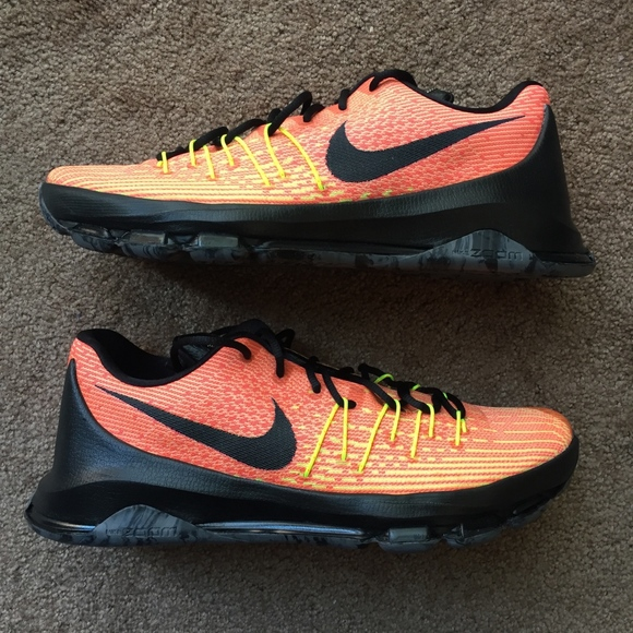 991febcb9959 Nike KD 8 Hunt s Hill Sunrise 749375-807 Sz 12 NEW